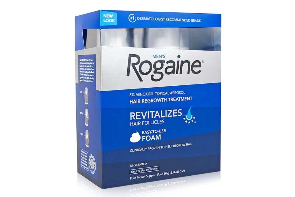 Rogaine Hair Loss Treatment Solution