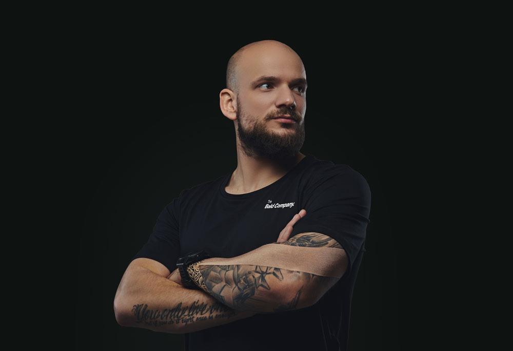 The Bald Company Hero