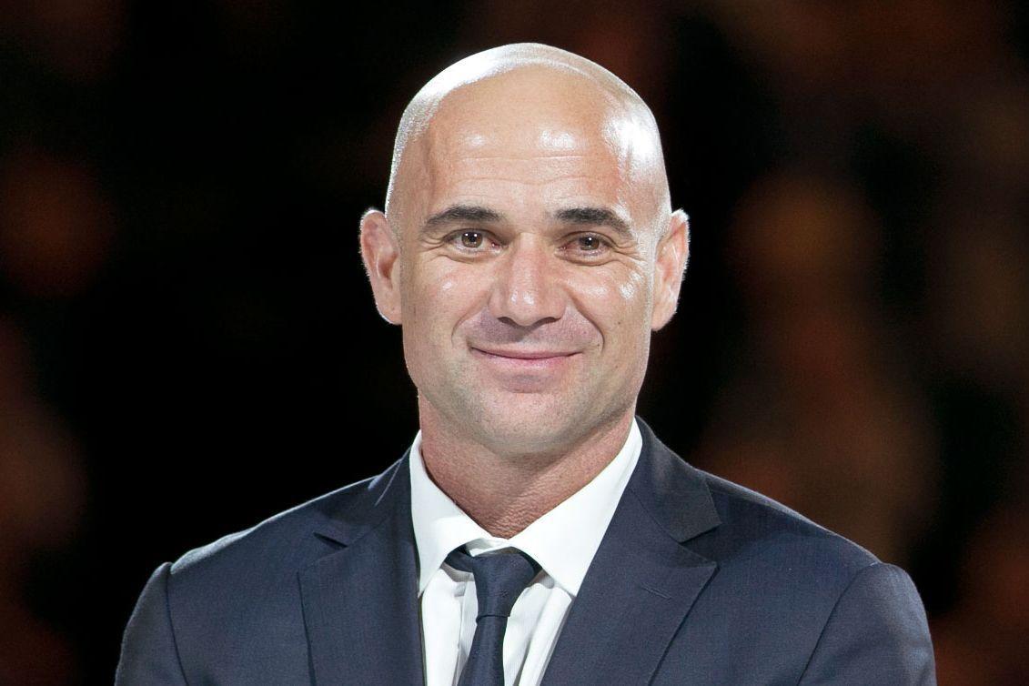 Andre Agassi Hair Loss Bald