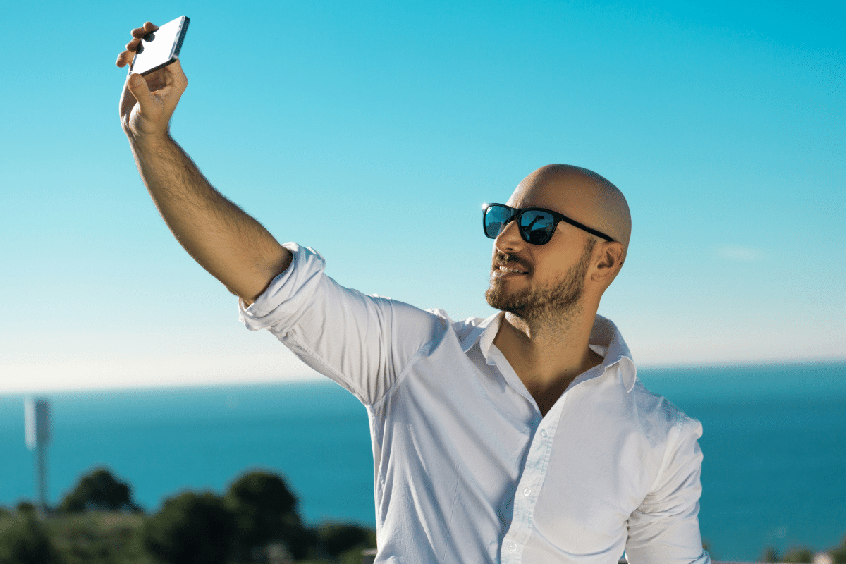 How To Nail Your First Bald Profile Pic