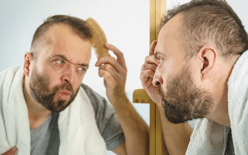 Soft Denial Hair Loss - The Bald Company