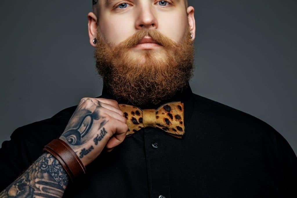 beard style inspo for bald guys