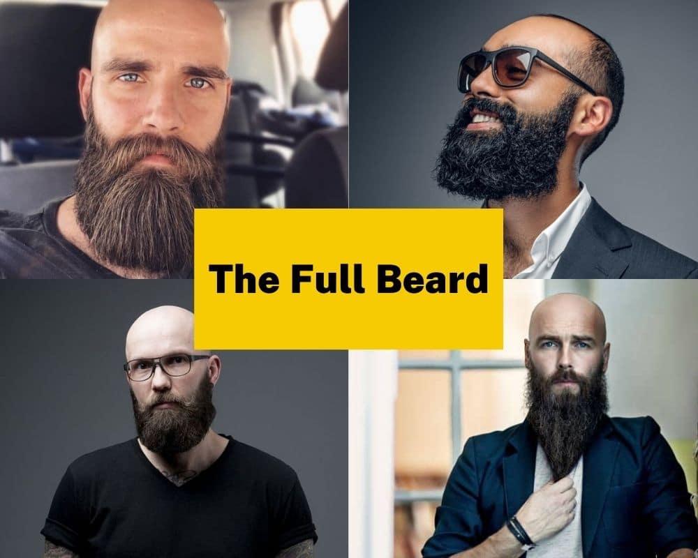 the-full-beard-style-for-bald-men-2021-best-styles