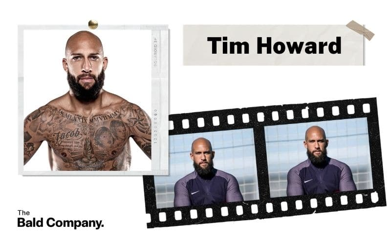 tim howard full beard bald sports star