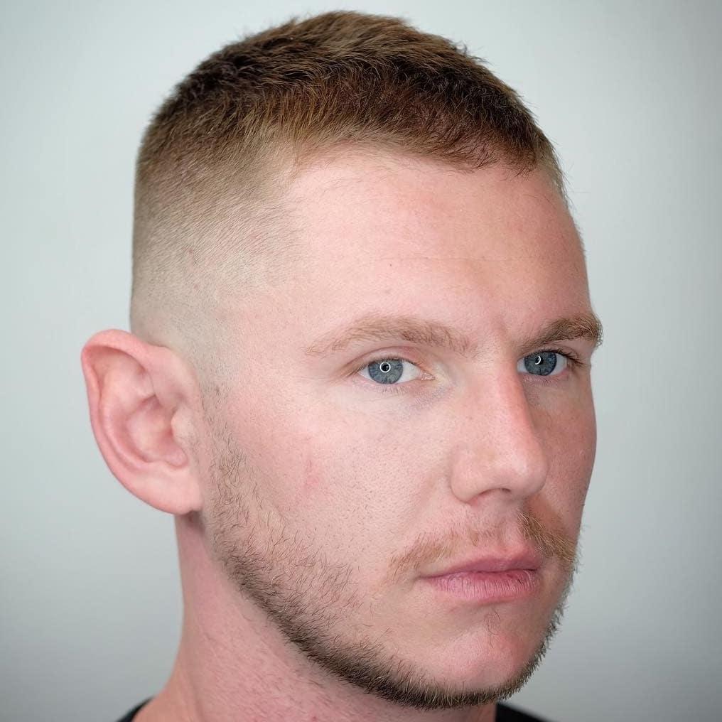 crew cut style for balding men