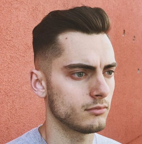 hair style for receding and thinning hair