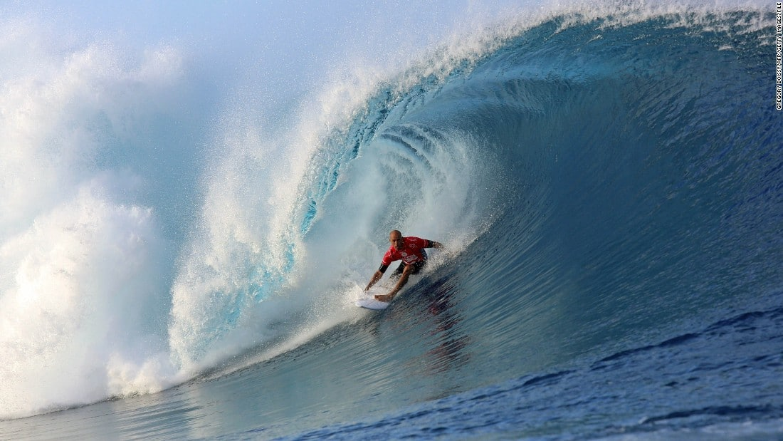 kelly slater surfing pro world champion