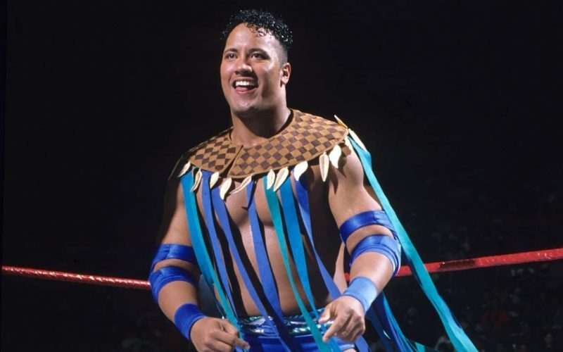 rocky maivia the rock early wrestling career
