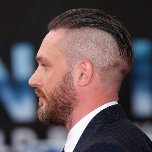 shaved back and sides style
