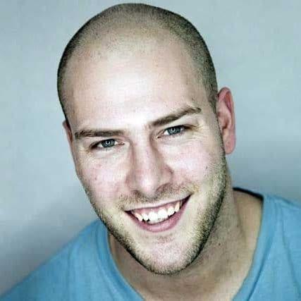 short hair styles for balding men