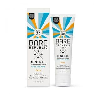 bare mineral sunscreen for bald men