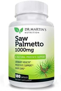 saw palmetto supplements natural hair loss remedy